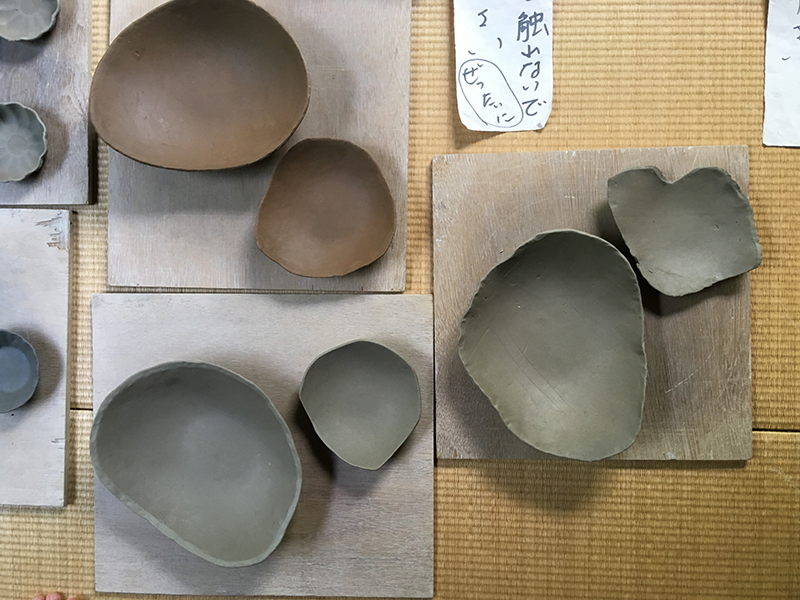 青木浩二さんの陶芸教室