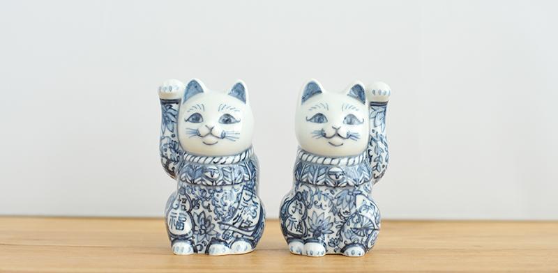 翠窯 招き猫