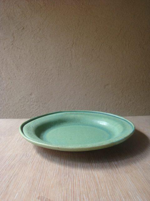 青木浩二さんの深め皿プレート