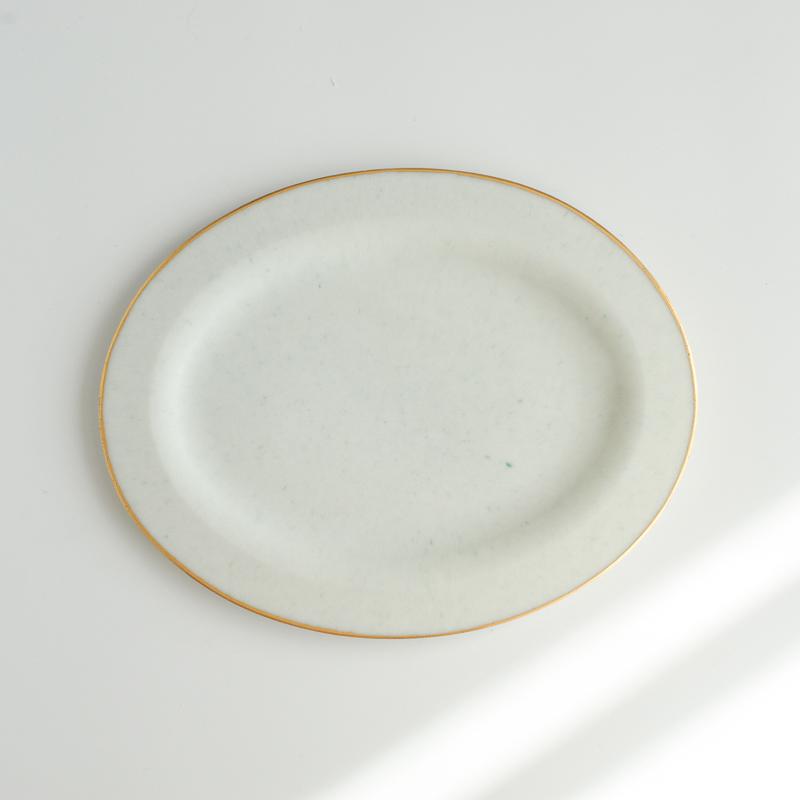 藤本咲 リム皿 オーバル