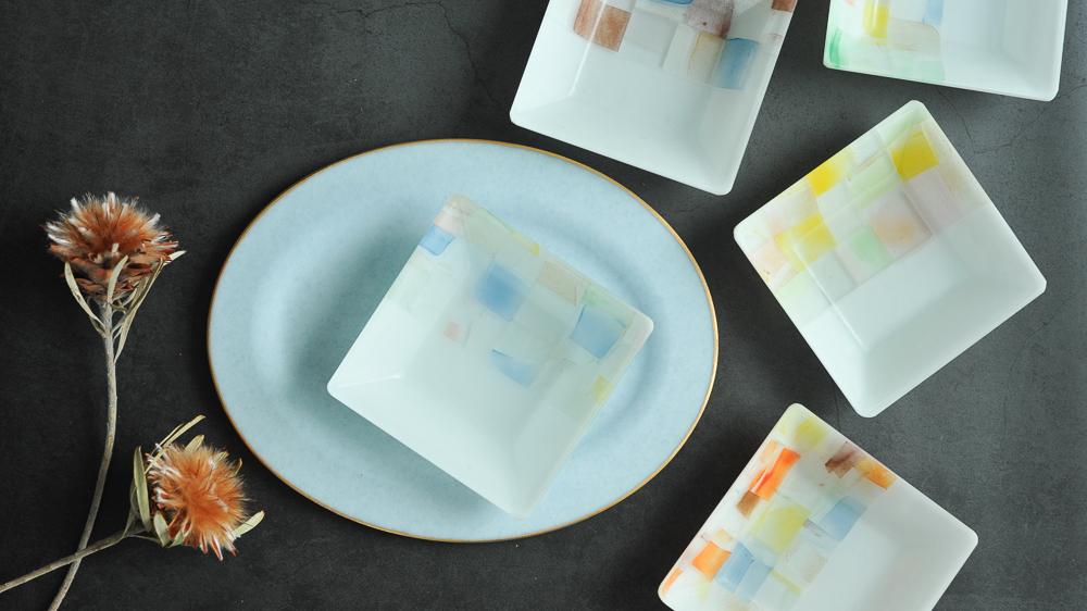 藤本咲 角皿
